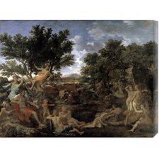 <strong>Bentley Global Arts</strong> 'Apollo and Daphne' by Nicolas Poussin Stretched Canvas Art