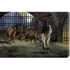 <strong>Bentley Global Arts</strong> 'Daniel in the Lions Den' by James Tissot Stretched Canvas Art