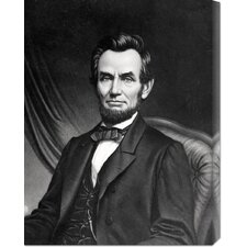 <strong>Bentley Global Arts</strong> 'Abraham Lincoln' Stretched Canvas Art