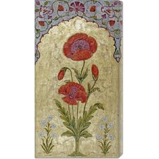 <strong>Bentley Global Arts</strong> 'Poppy Blossoms' by Oudh Stretched Canvas Art