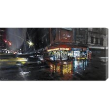 <strong>Bentley Global Arts</strong> 'Harlem Street' by Paolo Ottone Stretched Canvas Art