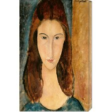 <strong>Bentley Global Arts</strong> 'Jeanne Hebuterne, 1919' by Amedeo Modigliani Stretched Canvas Art
