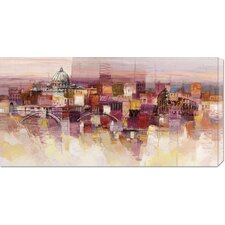 <strong>Bentley Global Arts</strong> 'Sognando Roma' by Luigi Florio Stretched Canvas Art