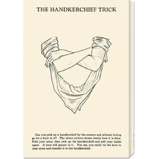 <strong>Bentley Global Arts</strong> 'The Hankerchief Trick' by Retromagic Stretched Canvas Art