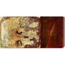 <strong>Bentley Global Arts</strong> 'Year of the Dragon' by Joannoo Stretched Canvas Art