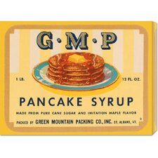 'G.M.P. Pancake Syrup' by Retrolabel Vintage Advertisement on Canvas