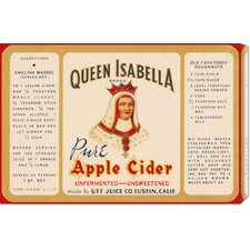 'Queen Isabella Pure Apple Cider' by Retrolabel Stretched Canvas Art