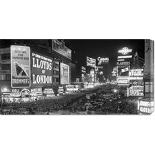 <strong>Bentley Global Arts</strong> Unknown 'Crowds in Times Square on New Year's Eve, 1936' Stretched Canvas Art