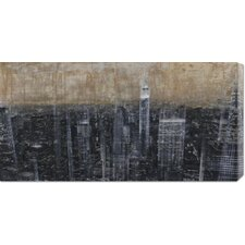 <strong>Bentley Global Arts</strong> 'NYC Aerial 3' by Dario Moschetta Stretched Canvas Art