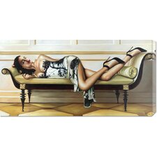 <strong>Bentley Global Arts</strong> 'Deco Lady' by Pierre Benson Stretched Canvas Art