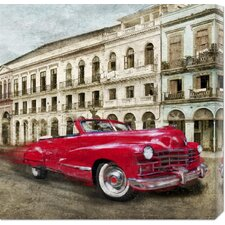 <strong>Bentley Global Arts</strong> 'Habanera' by Ivan Baldo Stretched Canvas Art