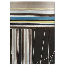 <strong>Focus One Home</strong> Meridian Striped Rug