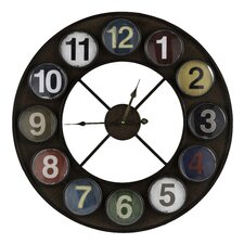 "Oversized 24"" Fraser Wall Clock"