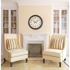 "Oversized 24.5"" Whitley Wall Clock"