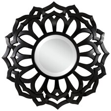 Covington Wall Mirror in Glossy Black