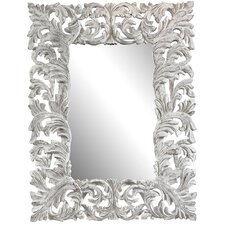 <strong>Cooper Classics</strong> Stockton Mirror in Distressed Aged White