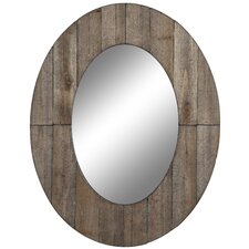 Mammoth Mirror in Distressed Rustic Grey