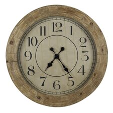 "<strong>Cooper Classics</strong> Oversized 31.25"" Fairbanks Wall Clock"