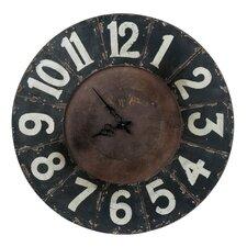 """Oversized 23.5"""" Balencia Wall Clock"""