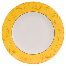 "<strong>Fitz and Floyd</strong> Flower Market 11"" Dinner Plate"