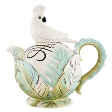 <strong>Fitz and Floyd</strong> Cockatoo Teapot