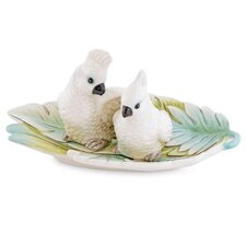 <strong>Fitz and Floyd</strong> Cockatoo Salt and Pepper Shaker Set