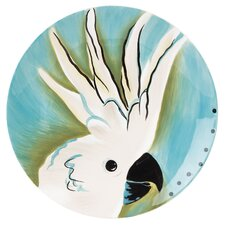 <strong>Fitz and Floyd</strong> Cockatoo Accent Salad Plate