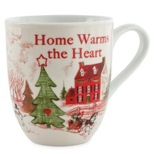 Home Warms The Heart Mugs (Set of 2)