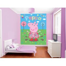 Peppa Pig Muddy Puddles Wall Mural