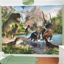 Dinosaur Land Wallpaper