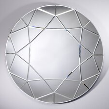 Homka Round Diamond Mirror