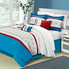 <strong>Chic Home</strong> Bella Rose 12 Piece Comforter Set