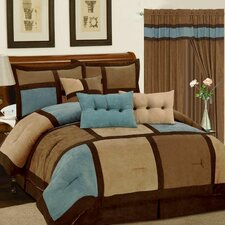 Dareen 7 Piece Comforter Set