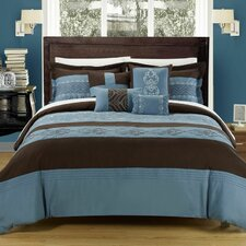 <strong>Chic Home</strong> Province 8 Piece Comforter Set
