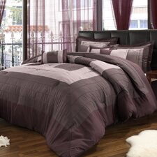 <strong>Chic Home</strong> Violet 8 Piece Comforter Set
