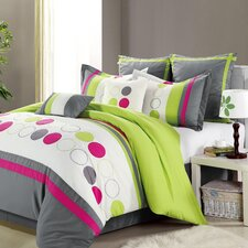 <strong>Chic Home</strong> Sporty 8 Piece Comforter Set