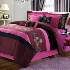 <strong>Chic Home</strong> Nori 12 Piece Comforter Set