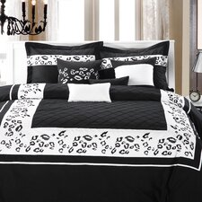 Tiger 8 Piece Comforter Set
