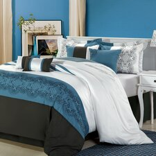 <strong>Chic Home</strong> Beluga 12 Piece Comforter Set