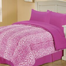 Leopard Style Reversible Comforter