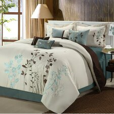 Bliss Garden 12 Piece Comforter Set