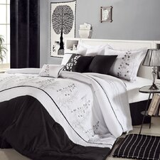 Poppy Flower 8 Piece Comforter Set