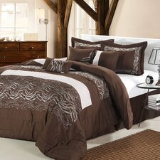 <strong>Chic Home</strong> Zebra 8 Piece Comforter Set