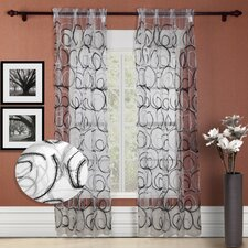 <strong>Chic Home</strong> Evelyn Grommet Curtain Panel (Set of 2)