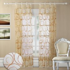 Evelyn Grommet Curtain Panel Pair