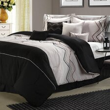 <strong>Chic Home</strong> Horizon 8 Piece Comforter Set