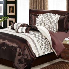 <strong>Chic Home</strong> Leonardo 8 Piece Comforter Set