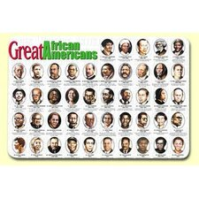 <strong>Painless Learning Placemats</strong> Great African Americans Placemat