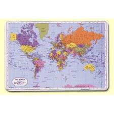 <strong>Painless Learning Placemats</strong> World Placemat