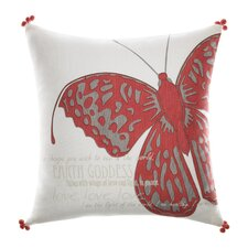 Earth Goddess Cotton Decorative Pillow